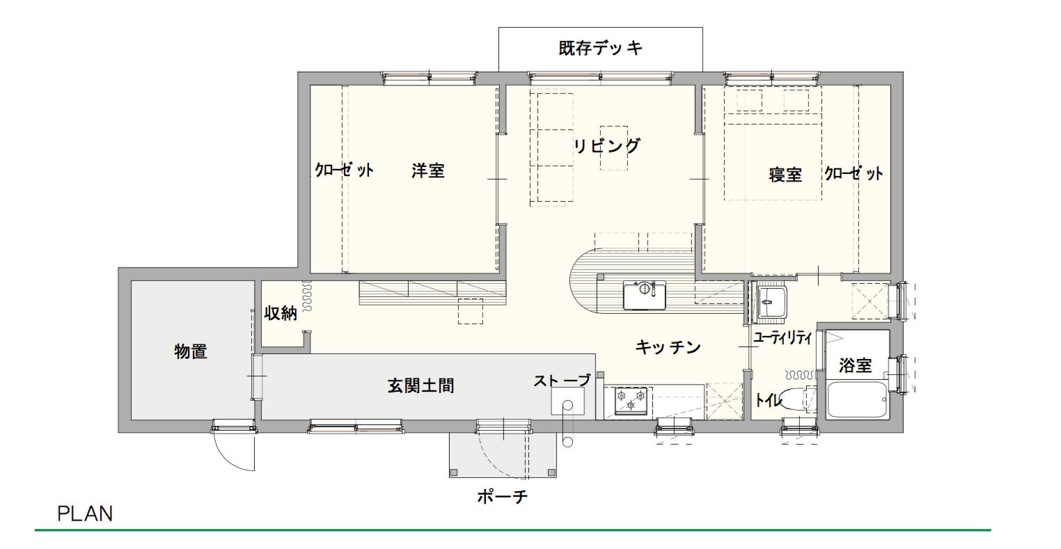 厚田の家 プラン