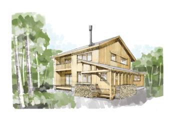 新月の家・イメージデザイン